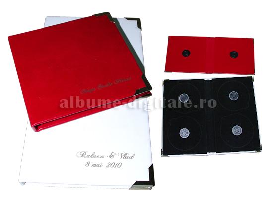 carcase dvd din piele cu interior de catifea