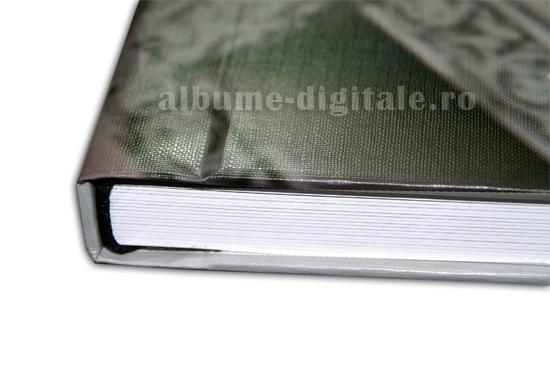 coperta fata hardcover, spate piele