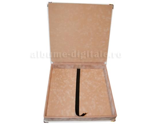 Interior Catifea sand, cutie din imitatie de piele