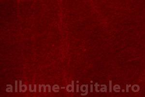 Face-off catifea - Rosu inchis